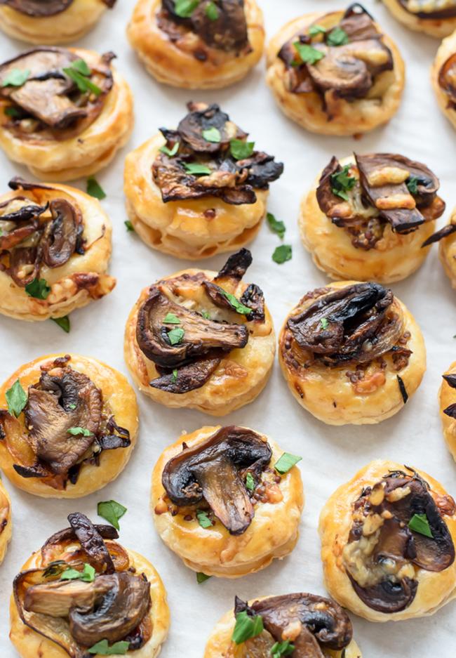 cheesy-mushroom-puff-pastry-bites