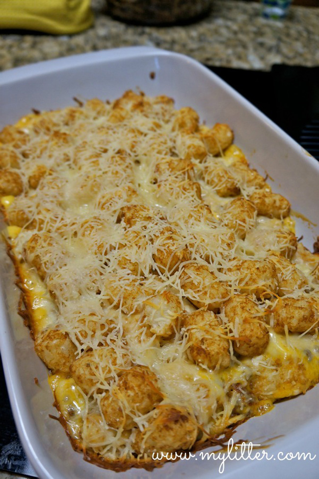 Tater Tots, Cheesy Tater Tot Casserole And More