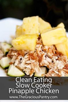 Easy Chicken Crockpot Recipes Healthy Clean Eating