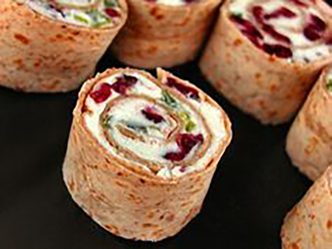 cranberry-feta-pinwheels