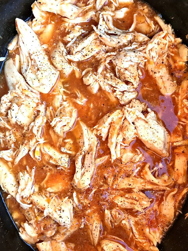 15 easy recipes for a crowd my life and kids crock pot salsa chicken on brown rice forumfinder Choice Image