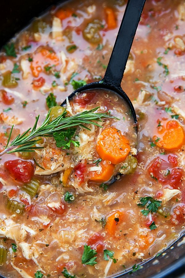 crockpot-italian-chicken-quinoa-and-vegetable-soup