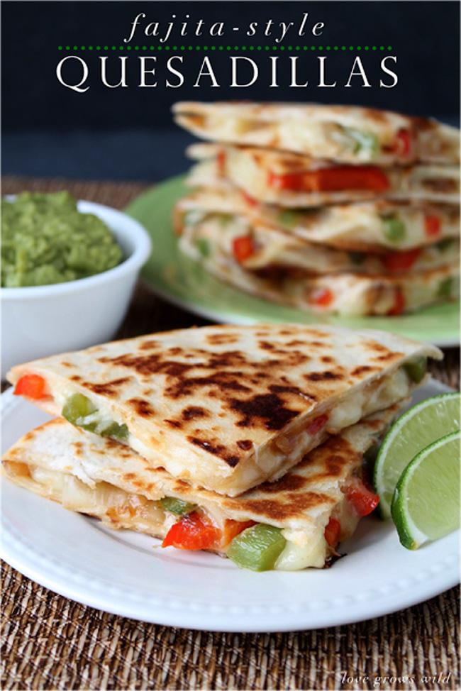 fajita-style-quesadillas