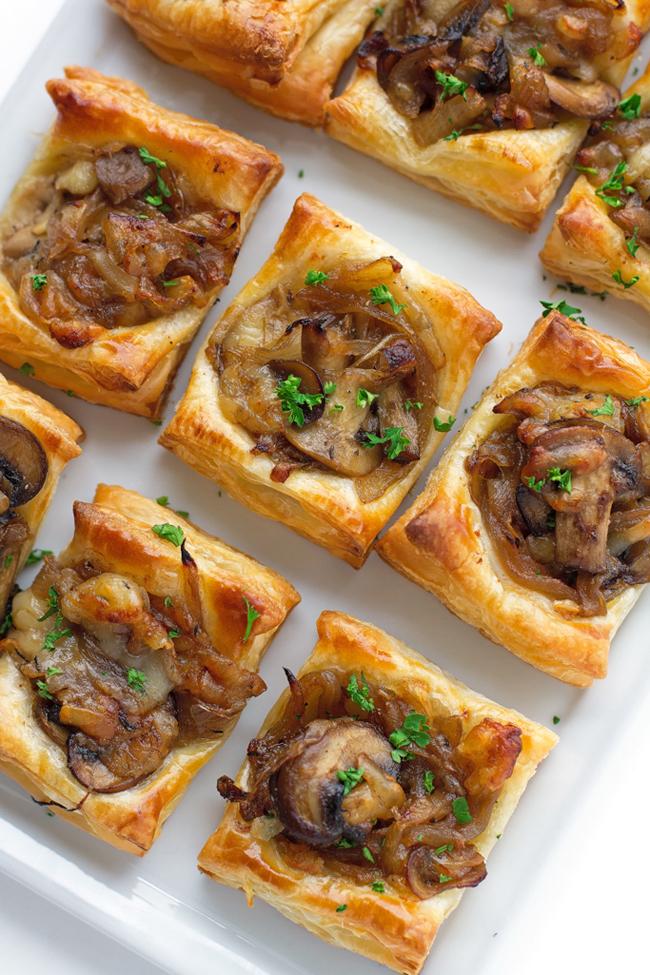gruyere-mushroom-caramelized-onion-bites