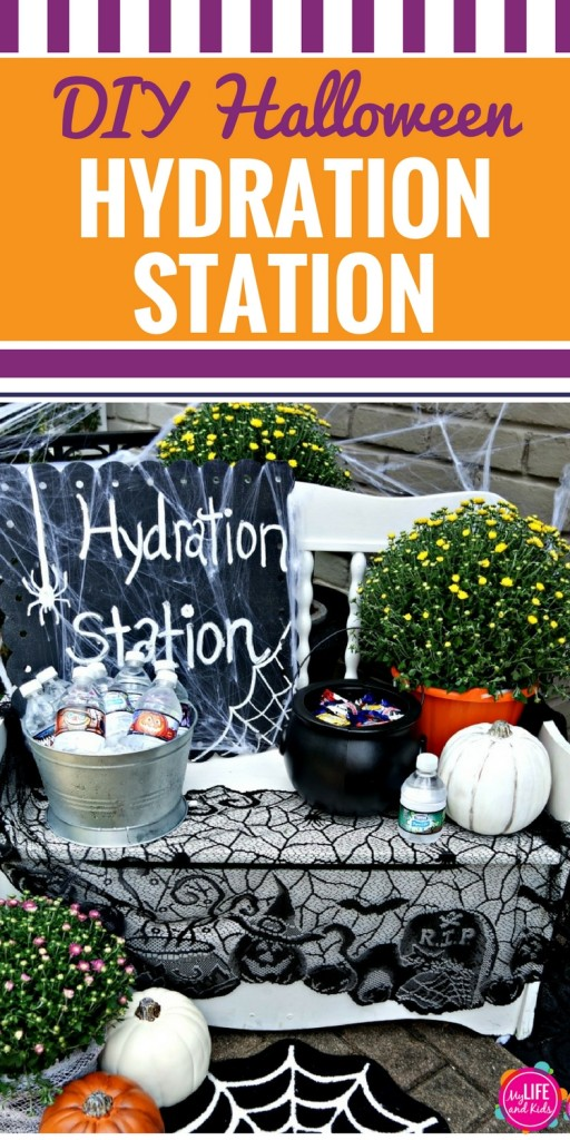 Planning a Halloween party or just want to add something fun to your night of trick or treating? Learn how to create a Hydration Station to help your little ghosts and goblins stay hydrated on Halloween Night!
