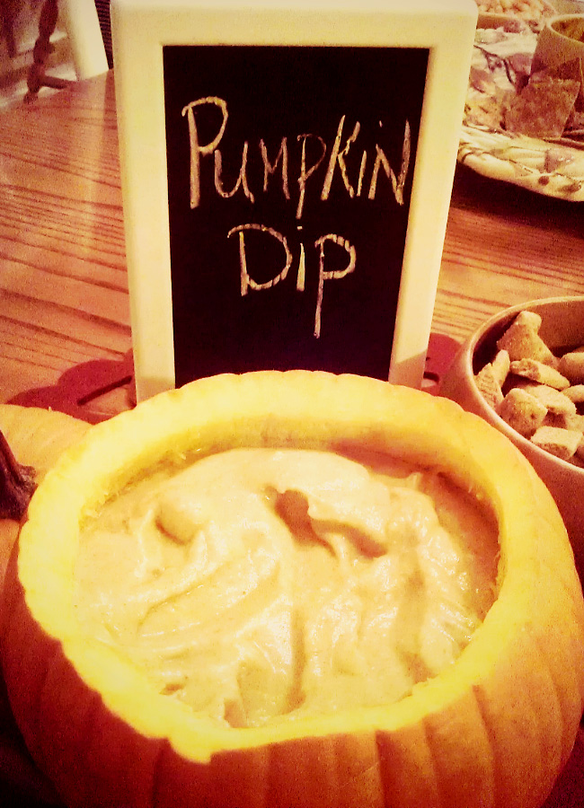 Pumpkin Dip — so easy to make and so delicious…you'll want to ...