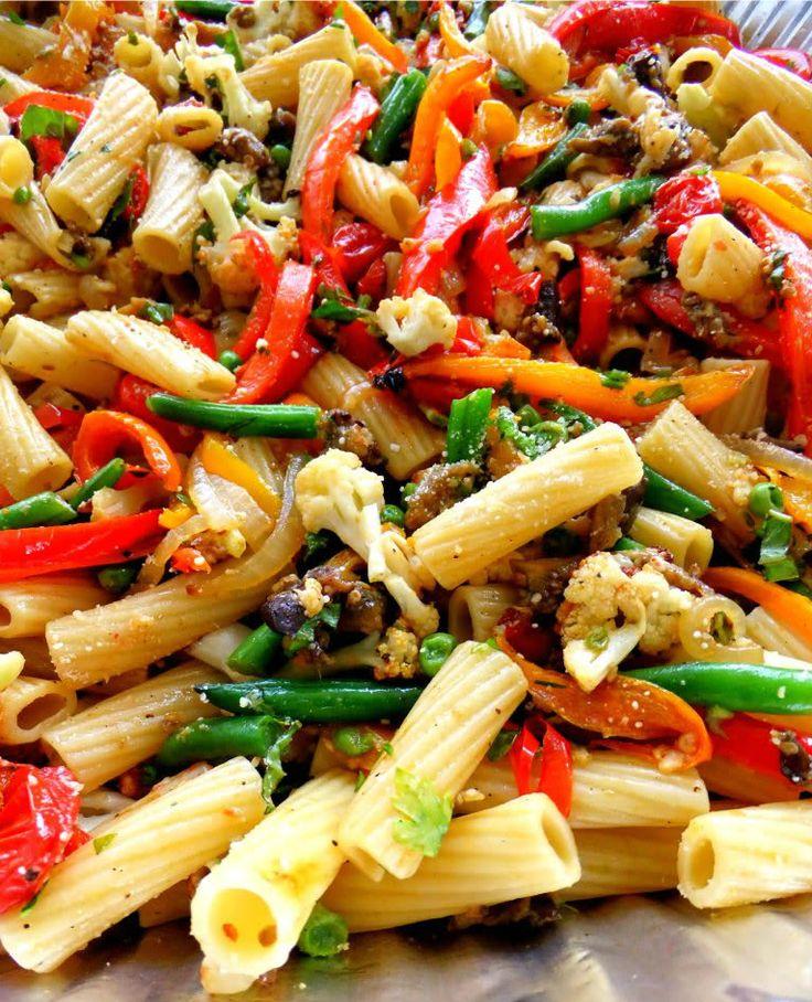 roasted-veggie-pasta