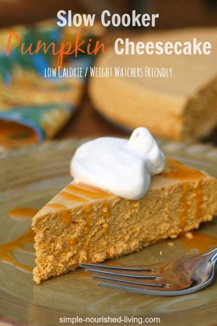 slow-cooker-pumpkin-cheesecake