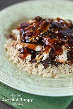 slow-cooker-sweet-tangy-chicken