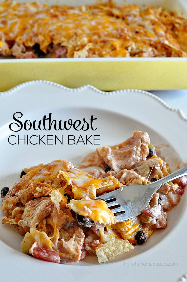 southwest-chicken-bake