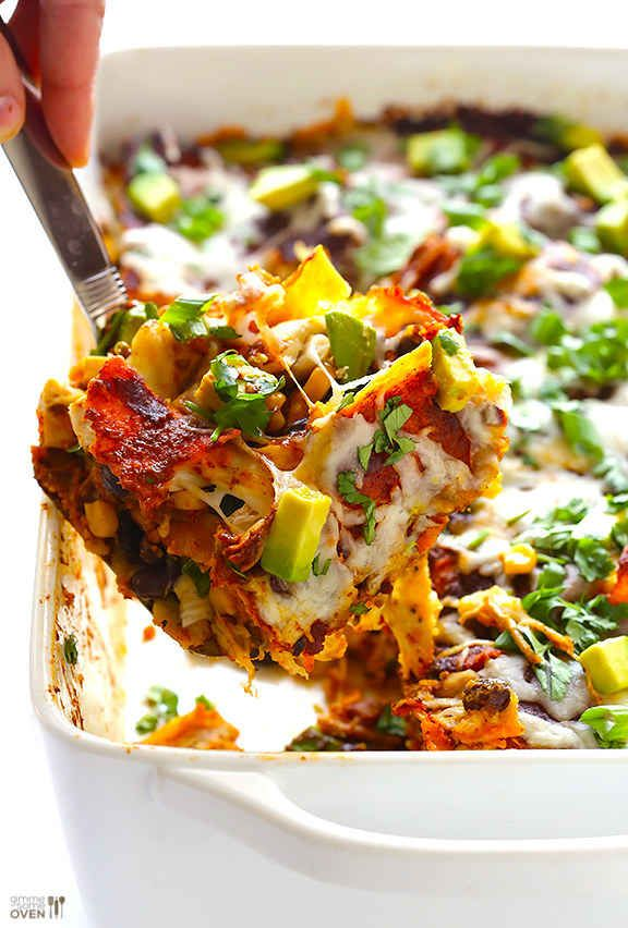 stacked-chicken-enchiladas
