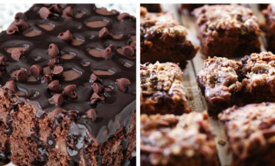 15 Chocolate Dessert Recipes. Craving chocolate? Look no further. We have chocolate cake, chocolate bars, chocolate apple dessert, chocolate pie, chocolate ice cream and even chocolate cheesecake. Yum.