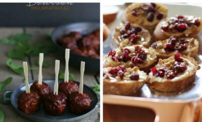 15 Christmas Appetizers Recipes. Tis the season for a party - and there's nothing better to bring than a holiday appetizer. We're sharing our favorites - be sure to check out the Bourbon barbecue meatballs and my all-time favorite cheesy bacon ranch dip. YUM