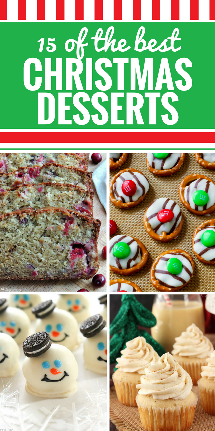 15 Christmas Dessert Recipes - My Life