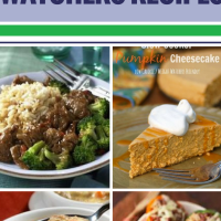 15 Crockpot Weight Watchers Recipes. Weight Watchers is great for helping you meet your weight loss goals, but why not get even more help by using your crockpot for preparing weight-friendly recipes? From chicken casserole for dinner to healthy, guilt-free desserts, get lots of ideas to fill your table (and your tummy) without breaking your diet.