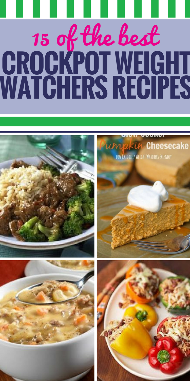15 Crockpot Weight Watchers Recipes - My Life and Kids