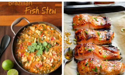15 Fish Recipes. Fish is always a healthy dinner option, especially when it's baked or grilled. These meals taste so gourmet, no one will believe how easy they are to make. We especially love the blackened tilapia taco bowls - yum.