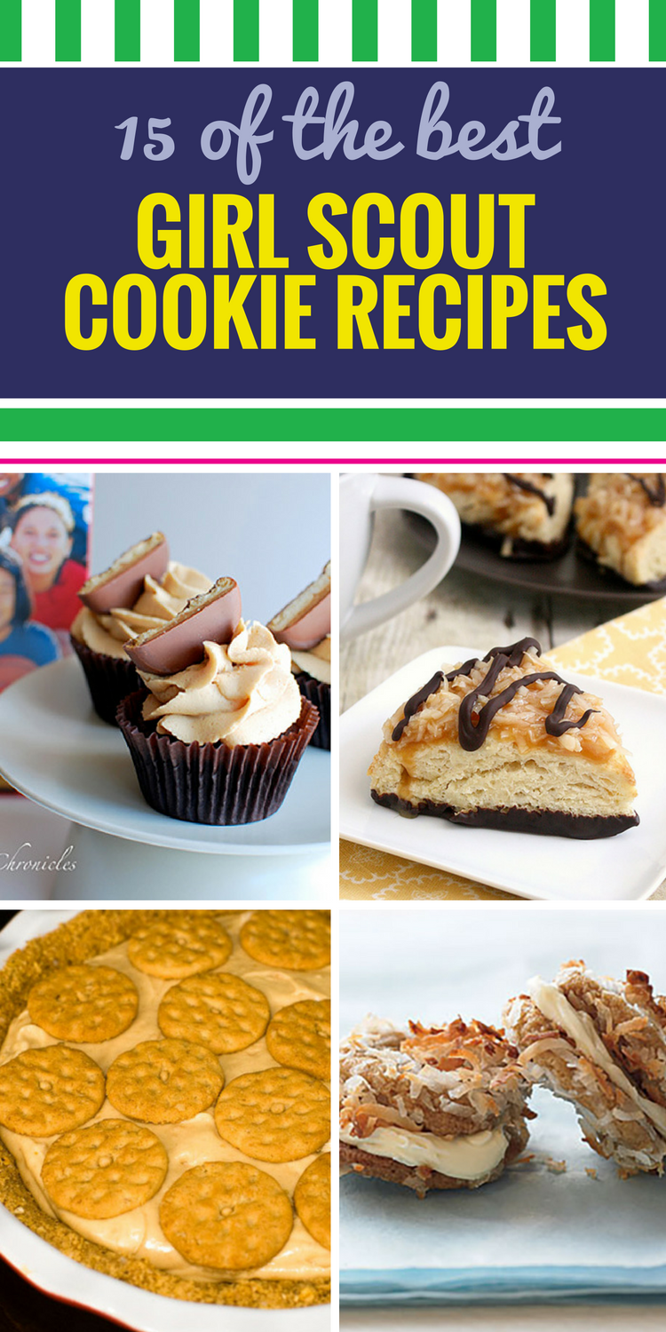 15 Girl Scout Cookies Recipes. If you can resist eating them on their own, here's an idea - stretch that Girl Scout cookie deliciousness into these dessert recipes. From Thin Mint Diet Coke Cake to Seven Layer Samoa Bars, turn your favorite cookies into what will soon be your newest favorite treats.