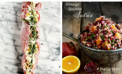 Healthy Christmas Dinner Recipes. It's all too easy to overindulge at the holidays, but you can keep your family celebration healthy without sacrificing flavor. If you need a vegetarian option to accommodate your guests, a salad idea that will whet everyone's appetite, or a table of lovely desserts to top things off, look no further.