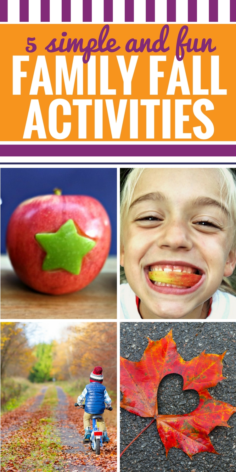 5 family fall activities to do with kids, including apple carving. There are tons of ways to slice an apple, and your family will love learning how to carve apples with cookie cutters.