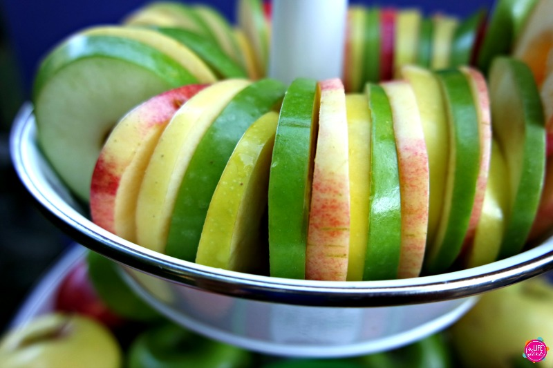 Apples in Round Slices