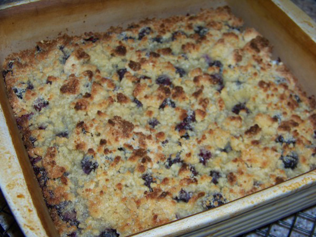 Easy Blueberry Cobbler Recipe With Cake Mix