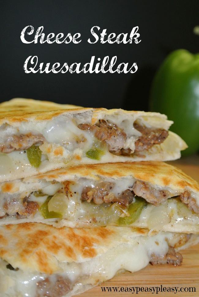 cheese-steak-quesadilla