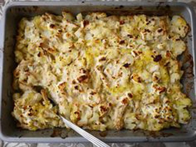 creamy-spaghetti-squash-chicken-casserole
