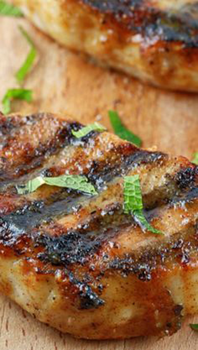 Grilled Pork Chops Marinade Recipe: My Life And Kids