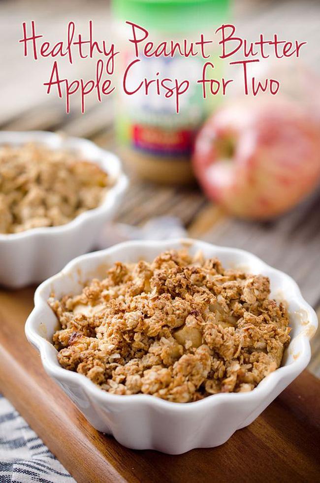 healthy-peanut-butter-apple-crisp-for-two