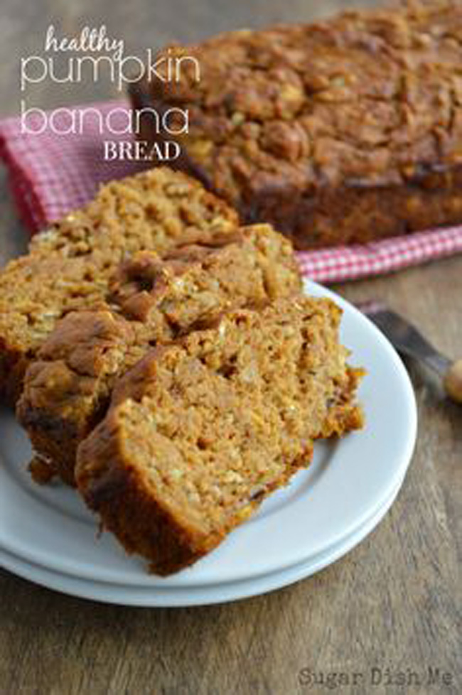 healthy-pumpkin-banana-bread