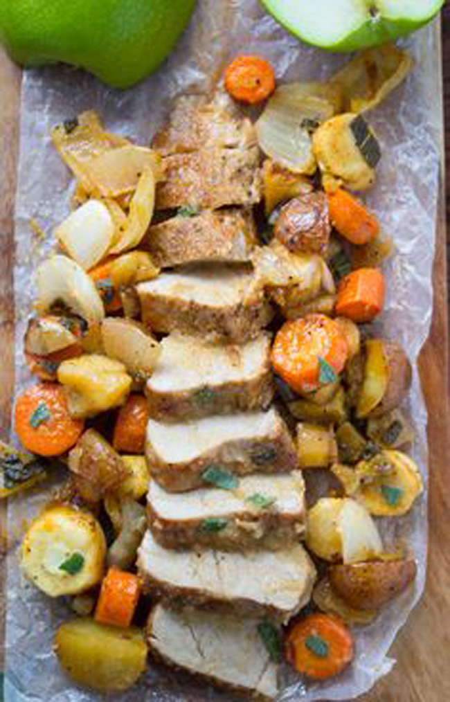 one-pan-roasted-pork-tenderloin-with-apples-sage-and-root-vegetables