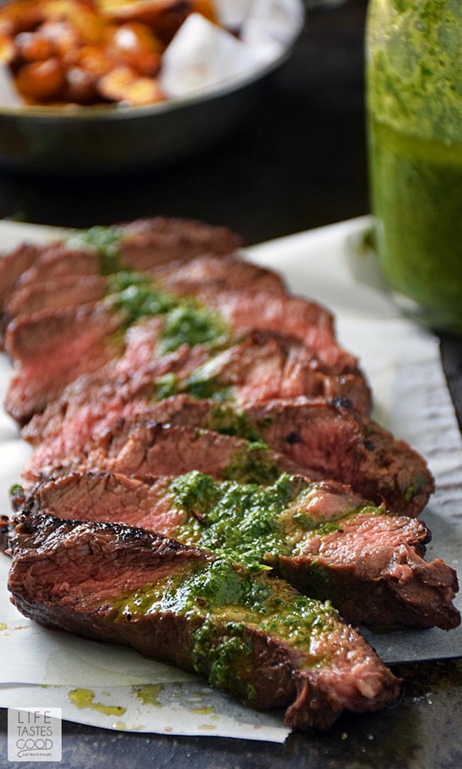 pan-seared-steak-with-chimichurri-sauce