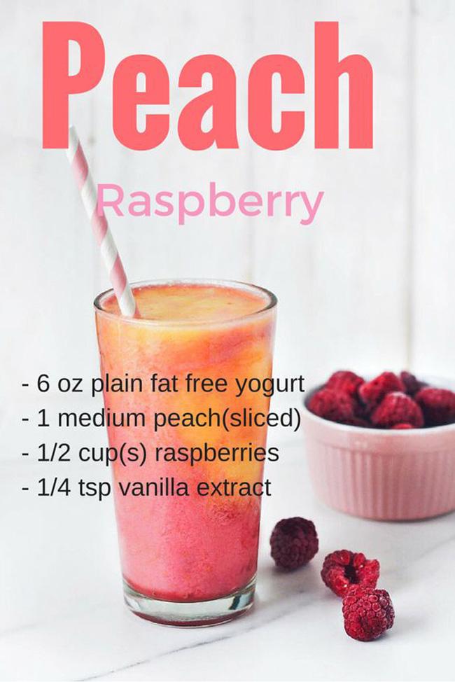 peach-raspberry-smoothie