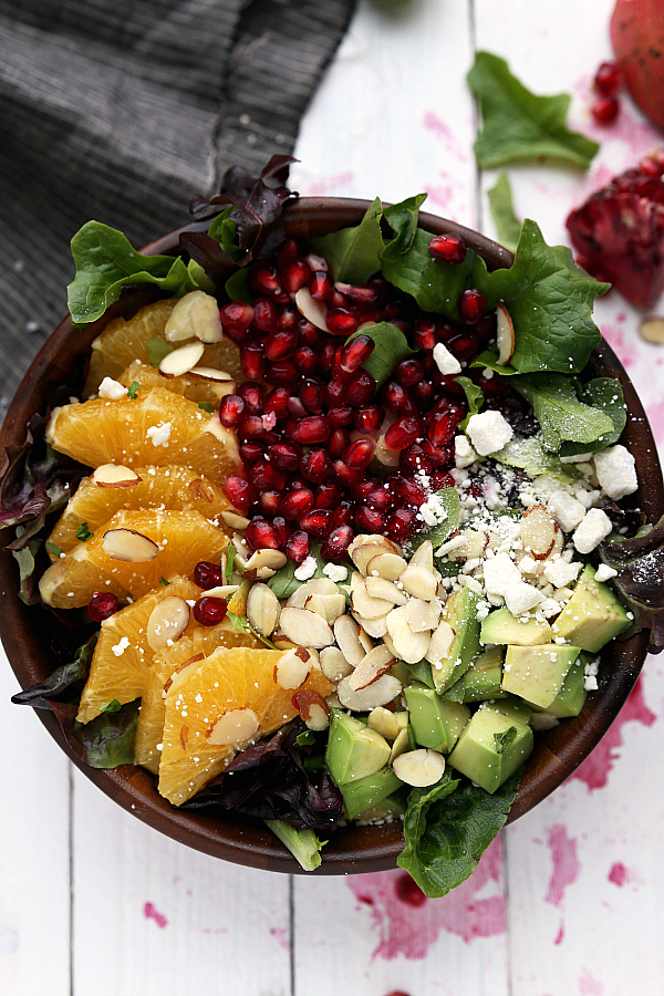 pomegranate-orange-salad