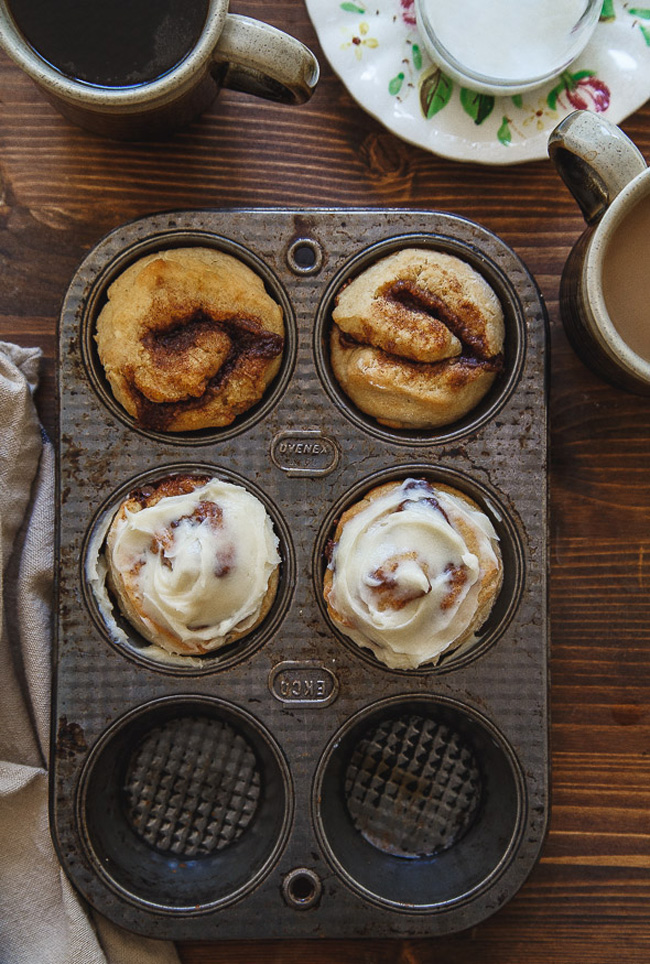 quick-no-yeast-small-batch-cinnamon-rolls