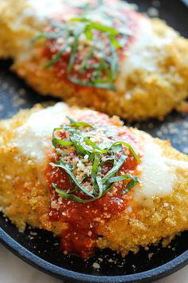 quinoa-chicken-parmesan