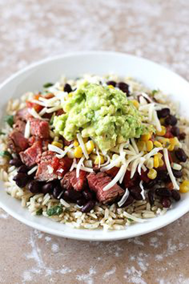 steak-burrito-bowls