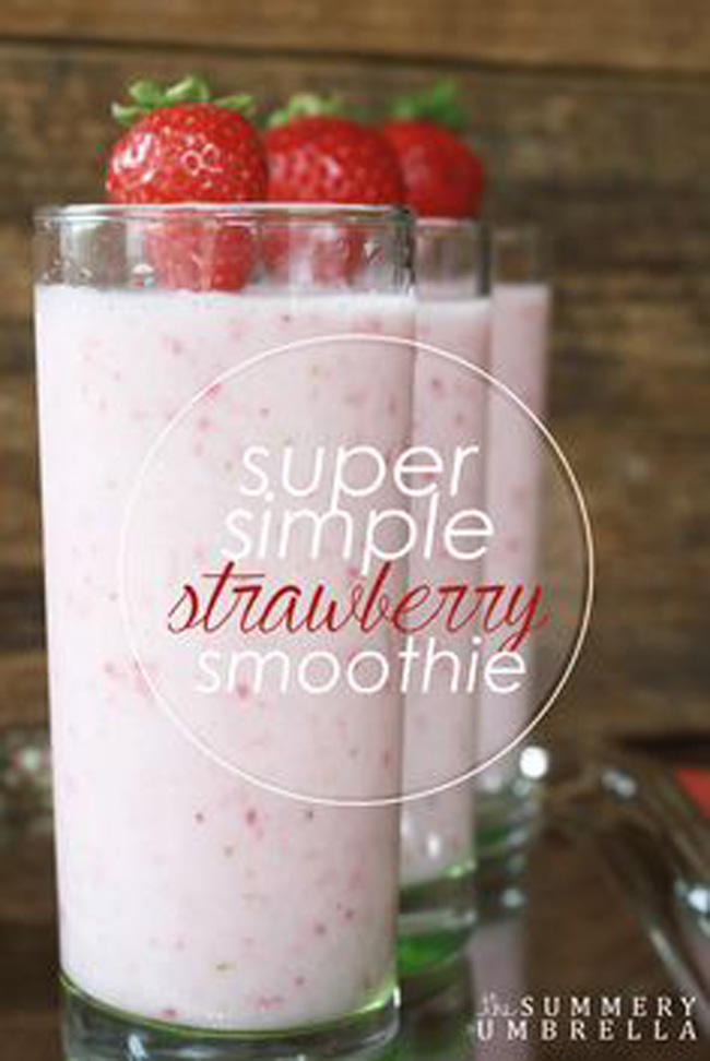 super-simple-strawberry-smoothie
