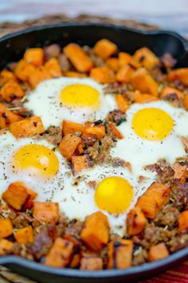 sweet-potato-hash-with-sausage-and-eggs