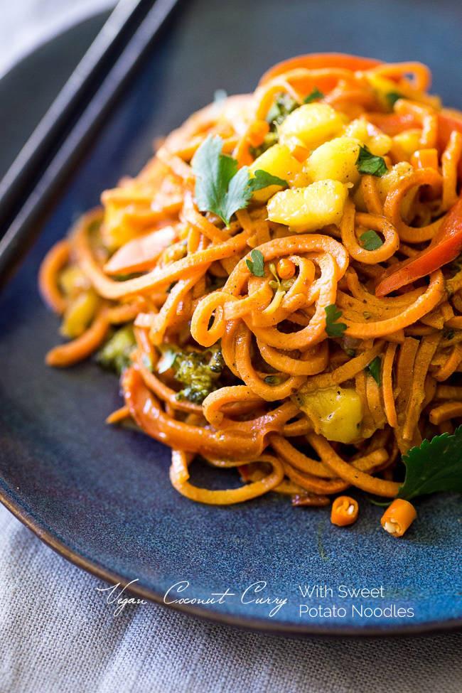 sweet-potato-noodle-vegan-coconut-curry