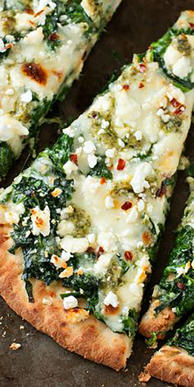 three-cheese-pesto-spinach-flatbread-pizza-copy