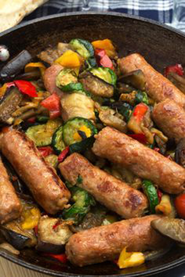 traditional-italian-sausage-with-vegetables