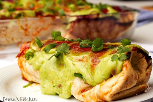 white-bean-avocado-baked-burritos