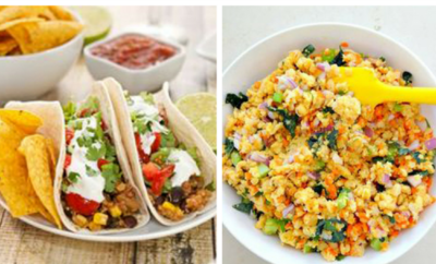 15 High Protein Vegetarian Recipes. If you're following a vegetarian diet, you need to take special care to ensure you get enough protein. From breakfast to dinner, make every meal healthy with these simple recipes.