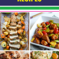 15 Pork Recipes. Need a creative, healthy new way to serve pork for dinner? Whether you're in the mood for Mexican or Italian, we have you covered. You'll want to make the easy one pan roast pork tenderloin (with apples and sage - yum) every night. We even have grilled and crock pot options.
