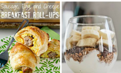 15 Quick Breakfast Recipes. Sure, it's the most important meal of the day, but who has time to make something really delicious in the morning? You do, with these 15 fast casserole, breakfast bread and truly healthy ideas to get your day off to a great start - so good you'll want breakfast for dinner, or even dessert.