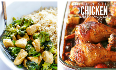 15 Quick Dinner Recipes. You want to make a healthy meal, but after a hectic day who has the time (and energy)? Now you do, with these 15 fast dinner ideas, from soup to an amazing chicken bake.