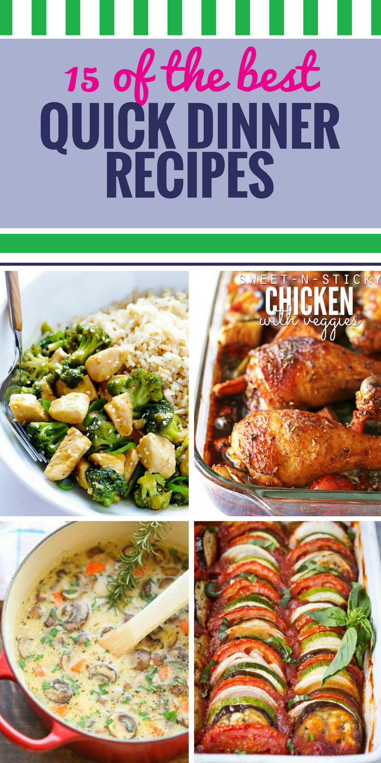 15 quick dinner recipes my life and kids 15 quick dinner recipes forumfinder Image collections