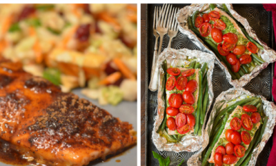 15 Salmon Recipes. Whether it's baked, grilled or pan seared in a skillet, salmon makes a delicious, healthy meal. Our favorite is this easy and fast Simple Salmon for kids recipe - great for dinner or on a salad.